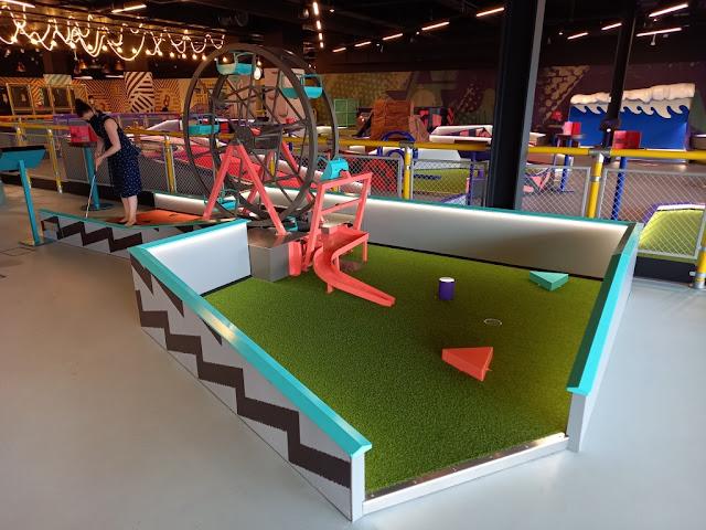 Puttstars Mini Golf at Rochdale Riverside