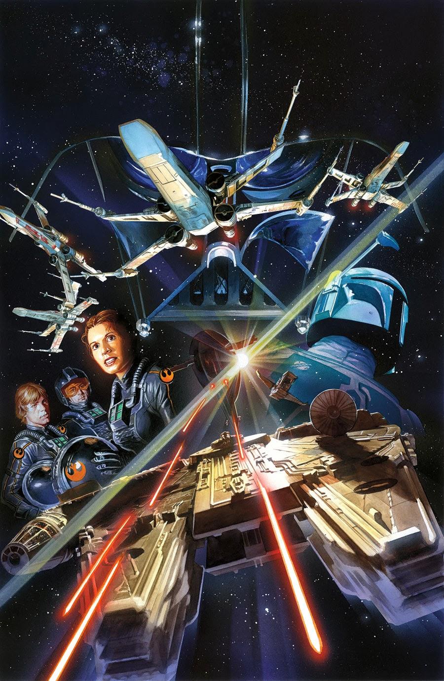 Coleccionista de Imagenes Alex Ross Portadas de Star Wars