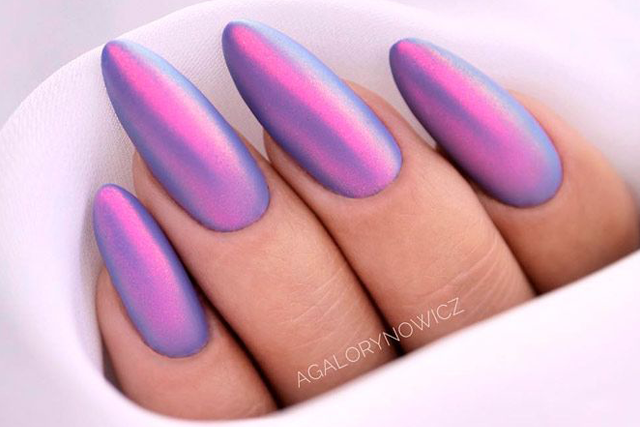 Almond Shaped Nails Colors