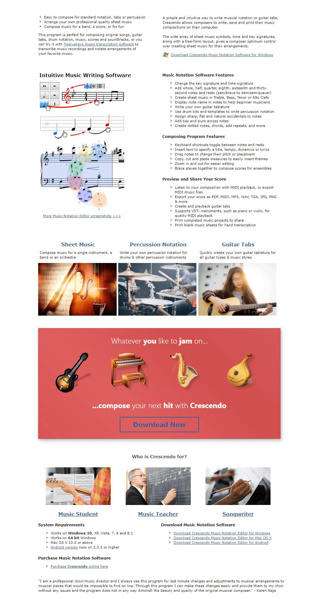 Crescendo Music Notation Software Registration Code