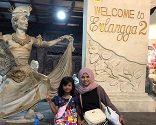 Erlangga Oleh oleh dari Bali