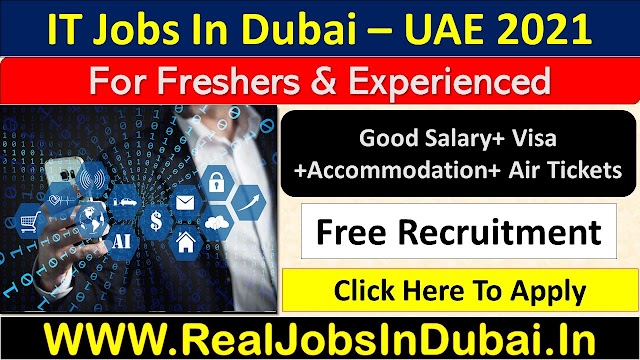 IT Jobs In Dubai  UAE 2021