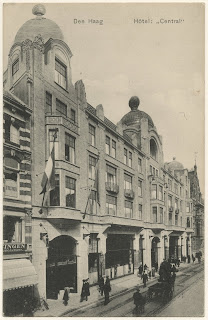 Hotel Central - The Hague - circa 1915  (From Haags Historische Museum site)