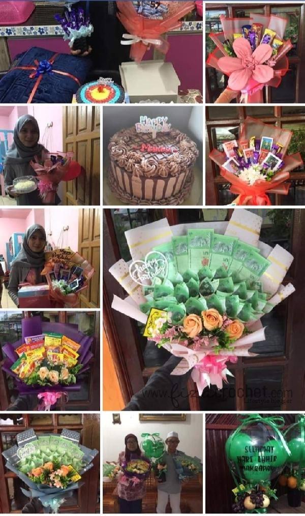 Ambil tempahan pelbagai jenis bouquet