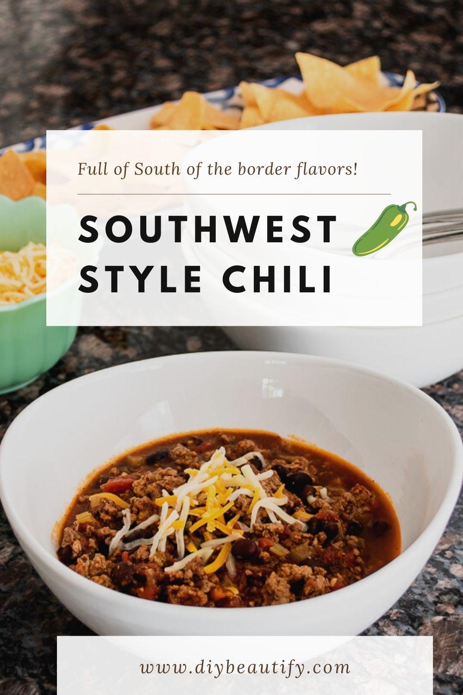 southwest chili recipe