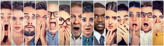 كيف يتم فهم العواطف في تعبيرات الوجه