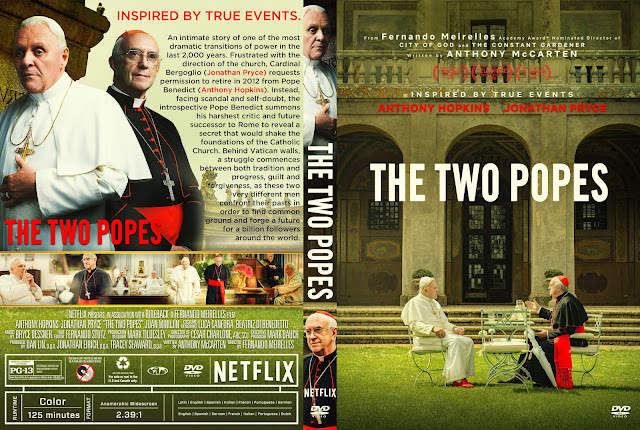 The Two Popes DVD Cover