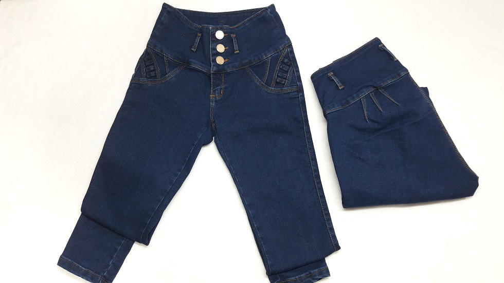 Modelo # 29 Pantalones Azul Mezclilla