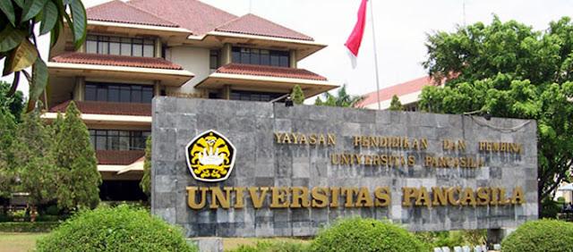 Biaya Kuliah Universitas Pancasila (UP) Tahun 2021/2022