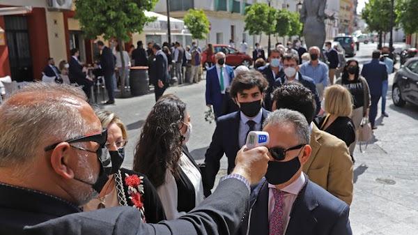 Las colas suplieron a las bullas en Jerez