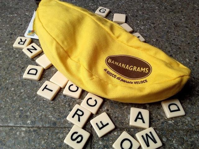 """""""Bananagrams"""", il gioco di parole più veloce che ci sia"""