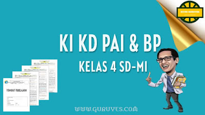 Pada kesempatan ini admin akan berbagi link download KI dan KD Pendidikan Agama Islam  Download KI KD PAI SD Kelas 4 Kurikulum 2013