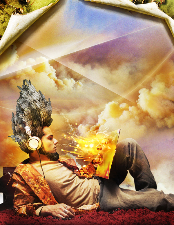Photo Manipulation Artworks by Romel Belga Surreal Art