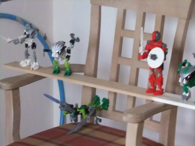 Legogeburtstagsparty Bionicleangriff