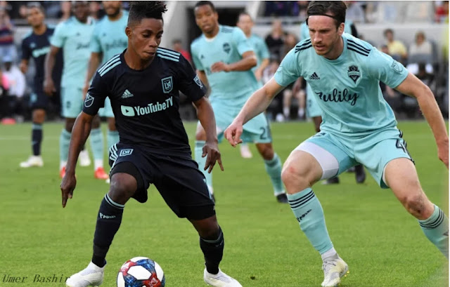 Los Angeles FC Latif Blessing Portland fought hard against Timbers