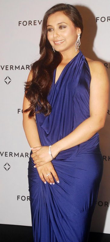 Rani Mukherjee Sexy Blue
