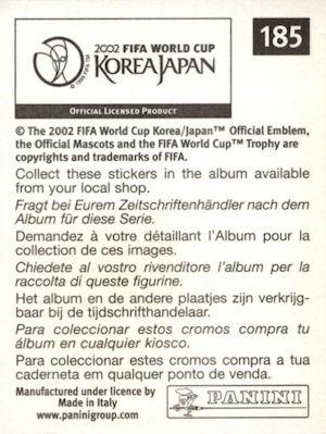 Panini World Cup Korea//Japon 2002-Séoul-World Cup Stadium no 5