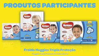 promoção huggies azul
