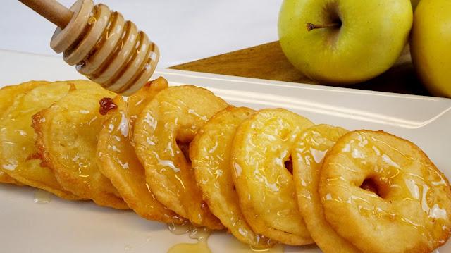 Buñuelos de manzana-Fritelle di mele