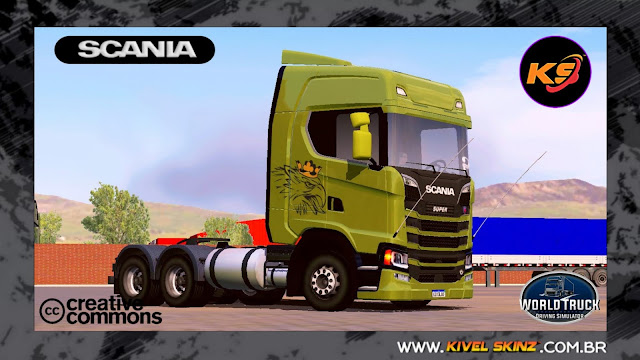 SCANIA S730 - VERDE GRIFFIN