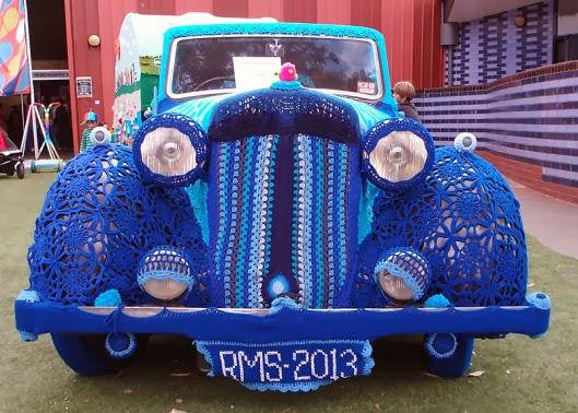 Bit Of Color Auto Met Caravan Haken
