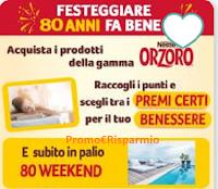 Logo Concorso ''Orzoro80'': vinci weekend benessere e premi benessere certi
