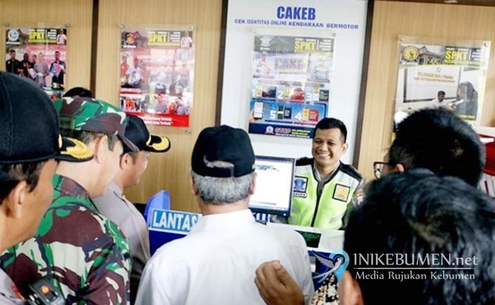 Catat! Curiga Kendaraan Bodong, Cek Aja Langsung di Polres Kebumen