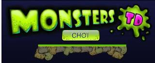 Chơi game phòng thủ quái vật hấp dẫn