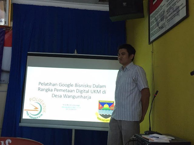 [Pengabdian Kepada Masyarakat] Pelatihan Google Bisnisku Dalam Rangka Pemetaan Digital UKM di Desa Wangunharja dan Pelatihan Tata Cara Pengajuan Perubahan Peta Desa Wangunharja di Google Maps