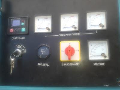 Melayani service panel kontrol genset