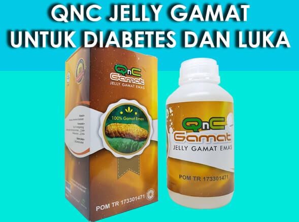 diabetes dengan qnc jelly gamat