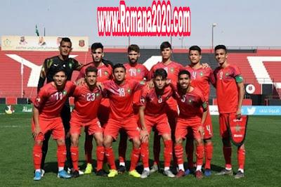 المنتخب أقل من 20 سنة يصل نصف نهاية كأس العرب منتخب المغرب