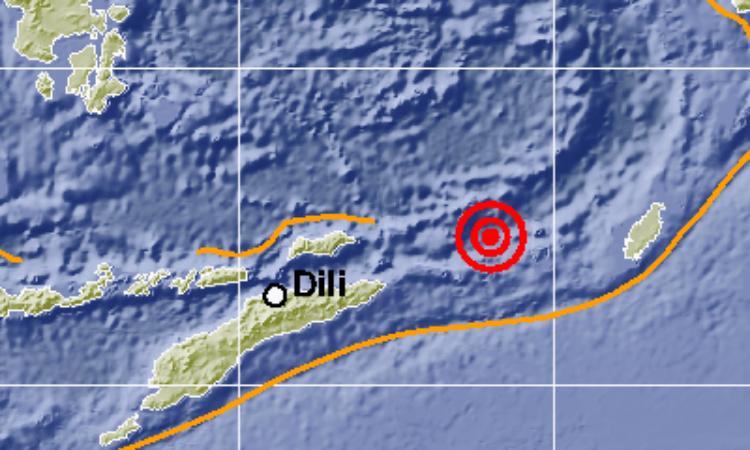 Gempa Berkekuatan M 5.2 Gundang Maluku