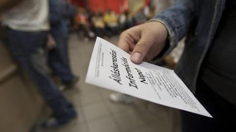 Zala megyében 5,2 százalék az álláskereső aránya