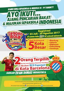 beasiswa sepakbola ke luar negeri untuk pelajar smp sma indonesia