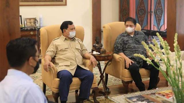 Temui Surya Paloh - Prabowo, Airlangga Sebut Koalisi Pilpres Dibentuk 2023