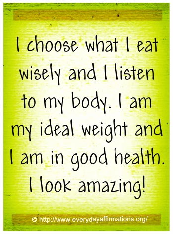 Daily Affirmations - 25 July 2013