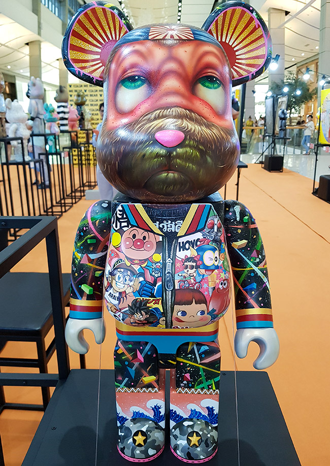 Aof Smith - Color Me Bear 2018 designer Be@rBrick toy