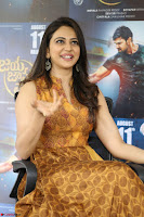 Rakul Preet Singh smiling Beautyin Brown Deep neck Sleeveless Gown at her interview 2.8.17 ~  Exclusive Celebrities Galleries 168.JPG
