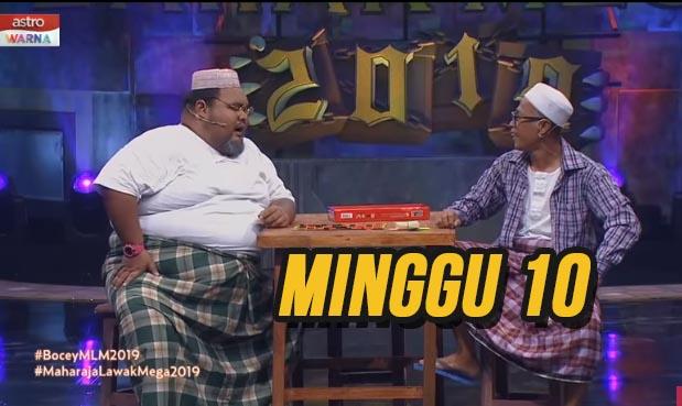 Tonton Maharaja Lawak Mega 2019 Minggu 10 Full MLM.