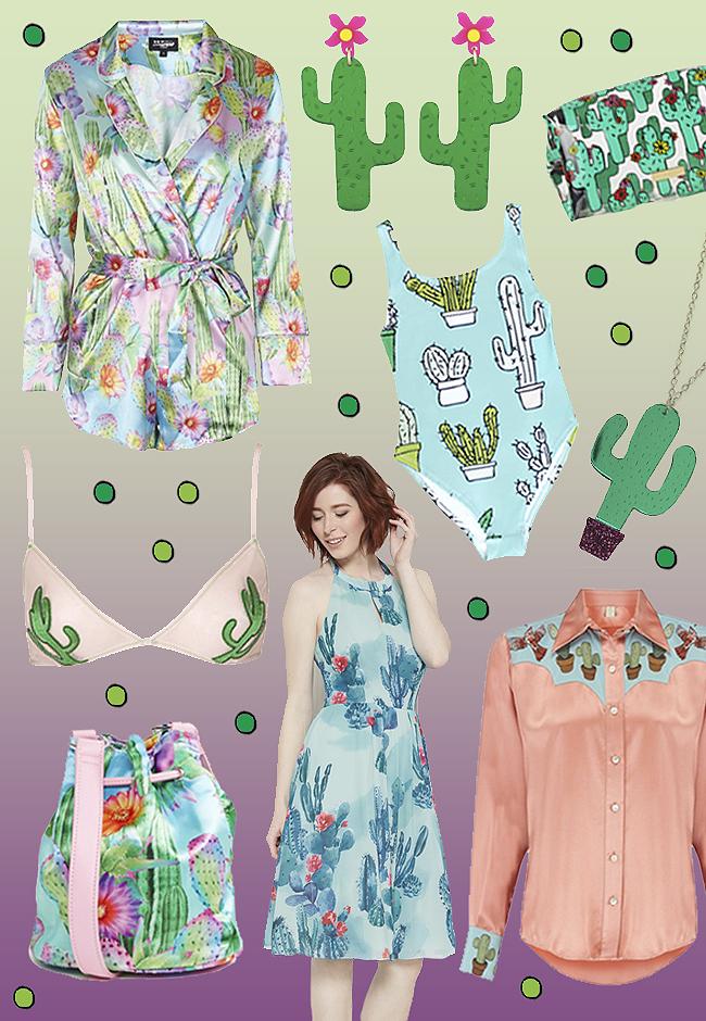cactus, fashion, trend
