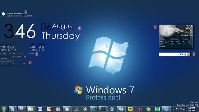Spesifikasi Untuk Dapat Menginstall Windows 7 di Komputer / Laptop
