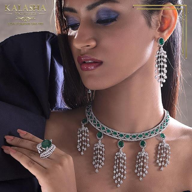 Exclusive Kundan Diamond Set by Kalasha