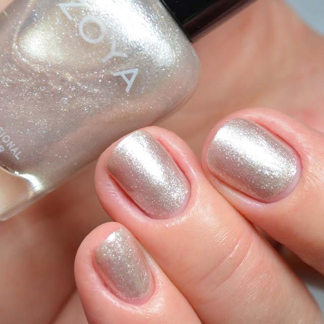 pearl nail polish swatch
