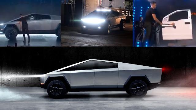 Tesla Cybertruck Armor glass| Body durability test Test Drive