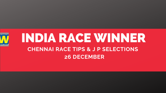 Chennai Race Selections 26 December