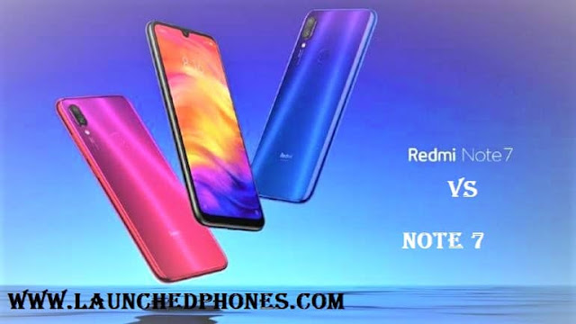 These phones are launched inward Republic of Republic of India today nether the budget toll segment Xiaomi Redmi Note seven vs seven Pro specs