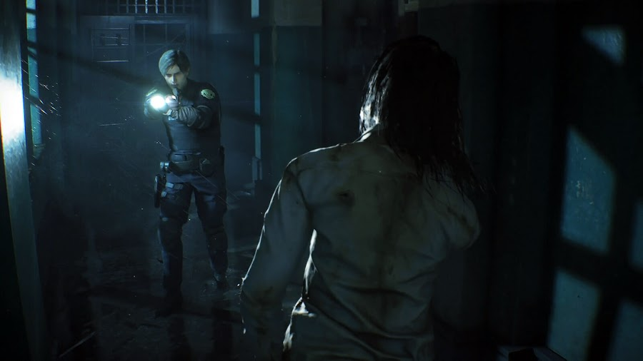 resident evil 2 remake survival horror leon kennedy rpd