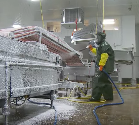 Pneumatic Actuators Designed To Handle Food Processing