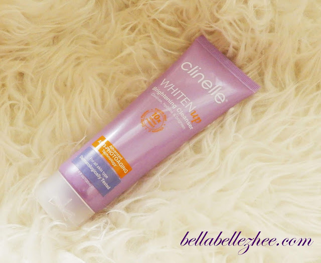 clinelle whitenup brightening cleanser
